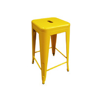 Tolix Xavier Pauchard Replica Metal Stool 660mm Yellow