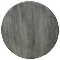 Isotop Outdoor Table Top Round 700mm Cement