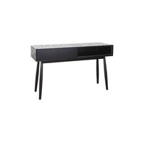 Finland Console Hall Table 1200mm 1 Drawer Retro Black