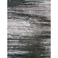 Atlantic Polyester Rug Frizze 160cm x 230cm Black Grey 6993