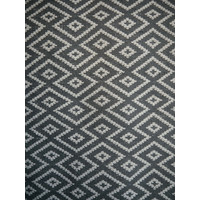 Mos Rugs Large Maldives Wool Blend Rug Grey 155cm x 225cm