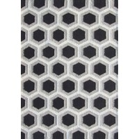 Bayliss Rugs Hive Black Hand Woven Wool 250cm x 300cm