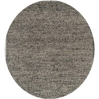 Italtex Rugs Nirvana Charcoal Grey Felted Wool Rug 240cm Round