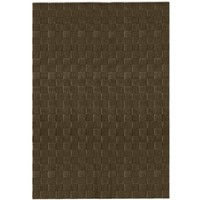 Italtex Rugs Floor Area Rug Wool Carpet flooring 185 X 275cm Polo #27 Chocolate Brown