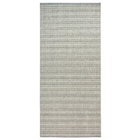 Italtex Rugs POLAR 701 Grey Hall Floor Runner Rubber Backed 80cm Wide Hallway Rug