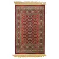Italtex Rugs Chiraz Art Silk Floor Carpet Rug 68cm x 105cm Red 8438-12