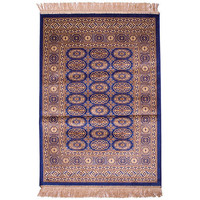 Italtex Rugs Chiraz Art Silk Floor Carpet Rug 100cm x 137cm Blue 8438-9
