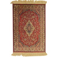 Italtex Rugs Chiraz Art Silk Floor Carpet Rug 68cm x 105cm Red 9099-12