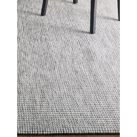 The RUG Collection Pure Wool Flat Weave Rug 160cm x 230cm Braid Ombre Lightning