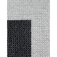 THE RUG COLLECTION BRAID PASTILLE FLATWEAVE WOOL Rug 160cm x 230cm BLACK