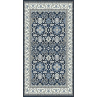 Verona Rug 1.2 Million Point Heat Set Poly 120cm x 170cm 6256 Navy