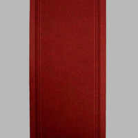 Typhoon Hall Runner 68cm Rubber Backed Hallway Carpet Red