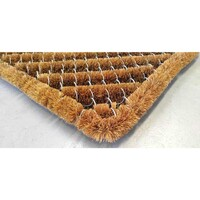 Bayliss Door Mat Bottlebrush Coir and Galvanised Wire Doormat 50cm x 80cm