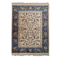 Italtex Rugs Chiraz Art Silk Hallway Carpet Runner Hall Flooring 68cm x 230cm Beige 5752-4