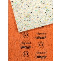 Airstep Foam Underlay Carpet Flooring 1.8m Wide x 2m Stepsmart Orange