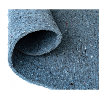 Airstep Carpet Flooring Underlay Cushion Pad 1.8m Wide x 2m Wool and Recycled Cothing
