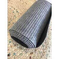 Kitchen Runner Rubber Back 60cm x 180cm Hallway Carpet Grey