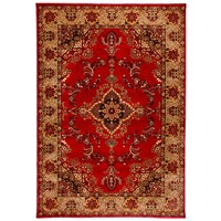 Majesty 443 Red Traditional Heatset Polypropylene Rug 160cm x 230m