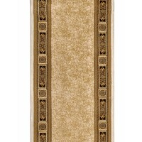 Italtex Rugs Hallway Runner Creme Border 80cm wide Hall Floor Carpet Chambord