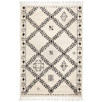 Italtex Rugs Nomad Tangir with Fringes Semi Shag Polyester  80cm x 300cm Hall Runner