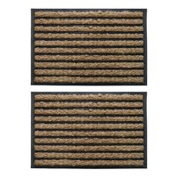 Coir Rubber Backed Doormat 60cm x 40cm x 2