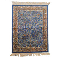 Italtex Rugs Chiraz Art Silk Floor Carpet Rug 68cm x 105cm Blue H261-9
