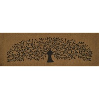 French Door Entrance Mat 119cm x39cm Willow Tree