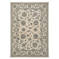 Italtex Rugs Nain Ivory 57365 Transitional Polyester Rug 160 x 230cm Floor Area Carpet
