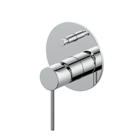 Greens Tapware Bathroom Shower Mixer Tap Diverter Gisele Chrome 18403590