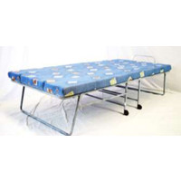 Hypersonic The Supersleepa Supreme Metal Single Folding Bed 76cm