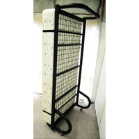 Hypersonic Single Bed Commercial Stand Up Metal Frame Only
