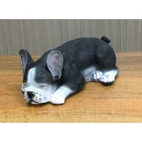 Flower World Harper the Sleeping French Bulldog Poly Resin Statue E522340