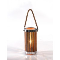 Timber Fresnel Spotlight Table Lamp 75044
