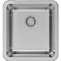Abey Lago LG100U 28.5L Single Bowl Undermount Sink 430mm x 450mm