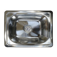 SE4 20L Bar Sink Inset Single Bowl Trough 420 x 360 x 160mm