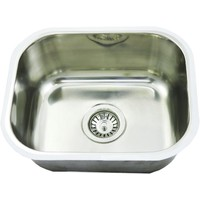 CM5 Bar Sink 23L Single Bowl Undermount or Counter Top 435 x 360 x 170mm