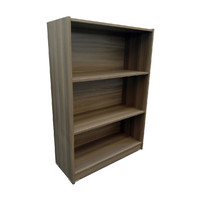 Riteway 3 Tier Ceramic Wood Bookcase 119cm x 83cm x 33cm