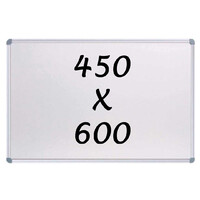 Whiteboards Direct Magnetic Whiteboard 450mm x 600mm Writing Board Commercial 10y Warranty
