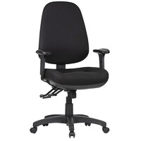 Style Ergonomics Office Chair AFRDI Rated High Back 3 Lever Ergonomic Black TR600-C-MB