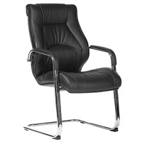 Style Ergonomics Executive Seating Boardroom Visitors Chair Black PU CAMRY-VC