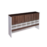 Pigeon Hole Hutch Premier Office Furniture Desk Top Shelving 1080mm H x 1800mm W Casnan White