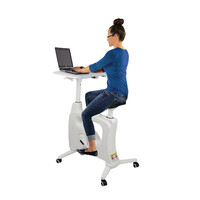Spindesk Gas Lift Fit Desk Sylex Ergonomics
