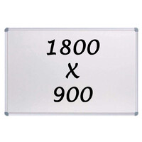 Whiteboards Direct Magnetic Whiteboard 1800 X 900mm Writing Board Commercial 10y Warranty