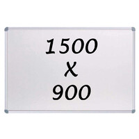 Whiteboards Direct Magnetic Whiteboard 1500 X 900mm Writing Board Commercial 10y Warranty