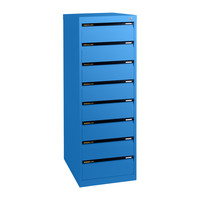 8 Drawer File Storage Office Steel Legal Cabinet 610mm Deep Aussie Made Life Time Warranty Wedgewood