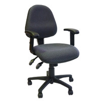 Chairlink Ergomonic Office Chair with Arms 3 lever Gas Lift Hathaway 5 yr Warranty Stewart