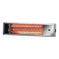 Heller Strip Heater 1500W Wall Mount Instant Indoor Chrome HSH1500C