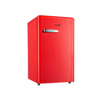 Heller 92L Bar Fridge Retro Red RBF92