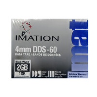 Imation 4mm DDS-60 Data Tape 2GB Compressed 1GB Uncompressed Storage Backup Disk