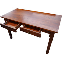 Student Wooden Study Desk for Home Office Computer Timber First Lady Antique Maple